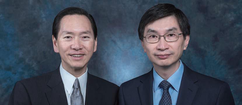 Mr. Bernard Chan, GBS, JP, Chairperson, HKCSS & Mr. CHUA Hoi Wai, JP, Chief Executive, HKCSS